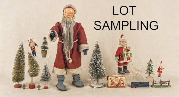 Group of miscellaneous Christmas items, to includ