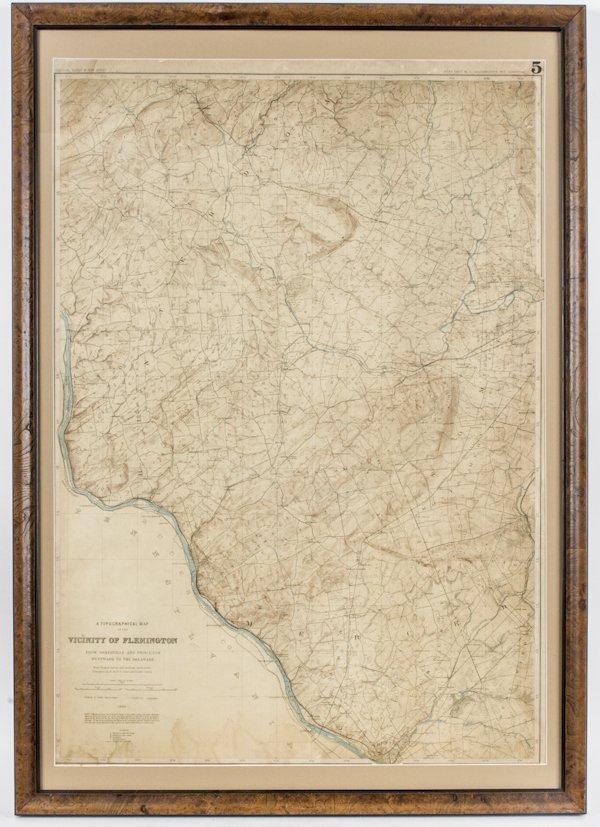 1795 NJ MAP Boonton Budd Lake Butler Carlstadt Carneys Point Chatham Clinton BIG