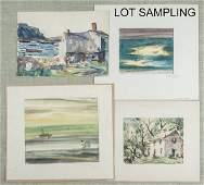 Irving Marantz American 19121972 ink and wate