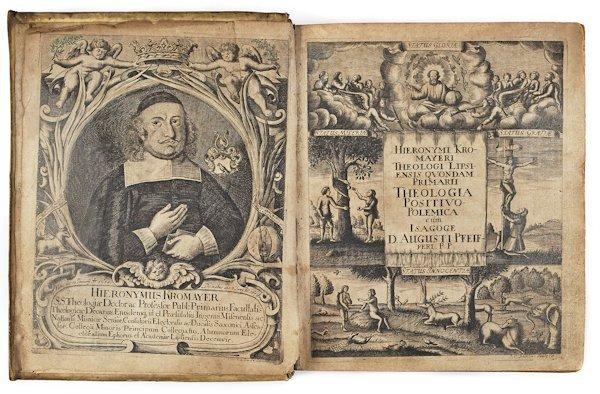 Hieronymus Kromayer Theologia, 17th c.