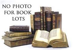 Group of miscellaneous leather bound books to in