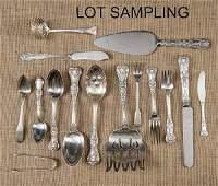 Partial Tiffany  Co sterling silver flatware se