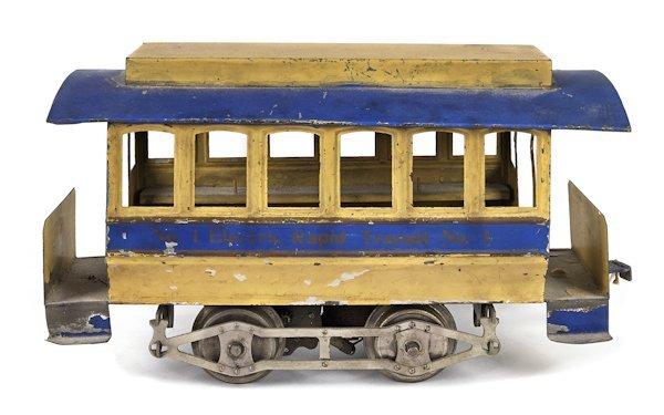 Lionel Electric Rapid Transit No. 1 trolley, earl