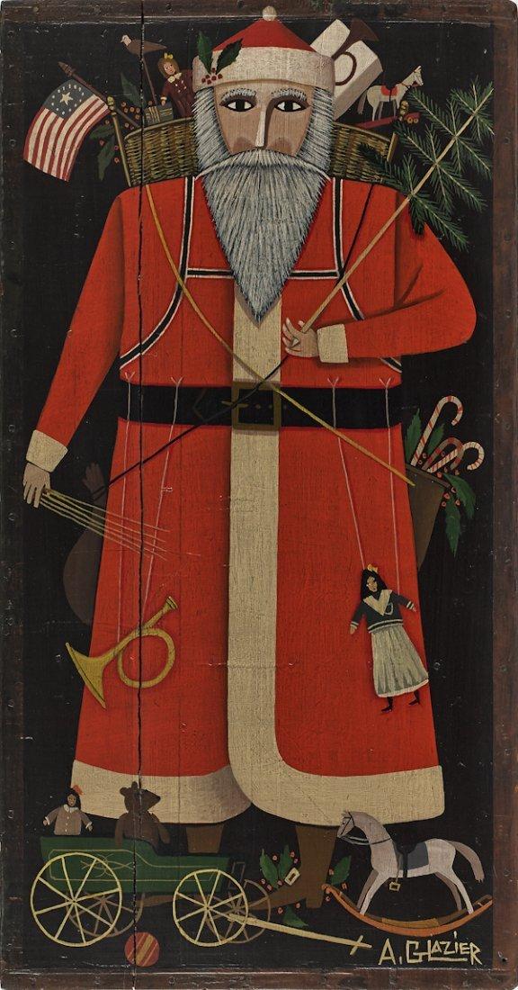 A. Glazier (East Berlin, Pennsylvania), painted S