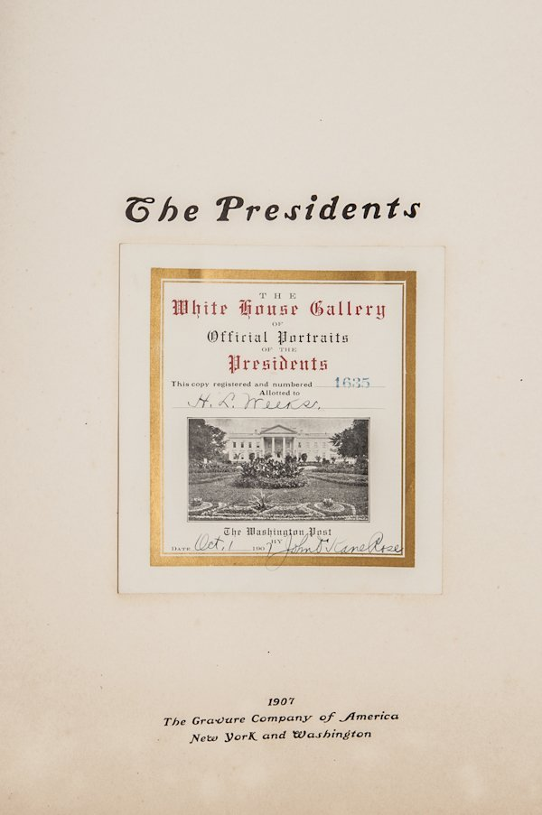 White House Gallery Official Portrait of Preside