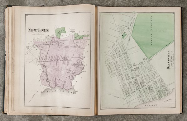 Atlas of Long Island, New York, by Beers, Comst