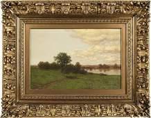 William Mason Brown (American 1828-1898), oil o