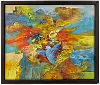 Eduard Grossman (Israel b. 1946), oil on canvas,