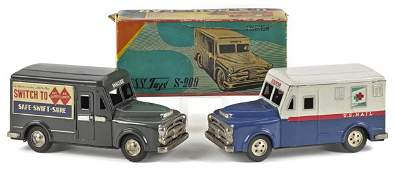 SSS Japanese tin friction US Mail delivery