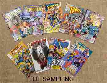 Collection of over 200 comic books, to include Ma