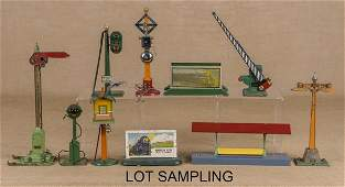 Group of American Flyer train accessories