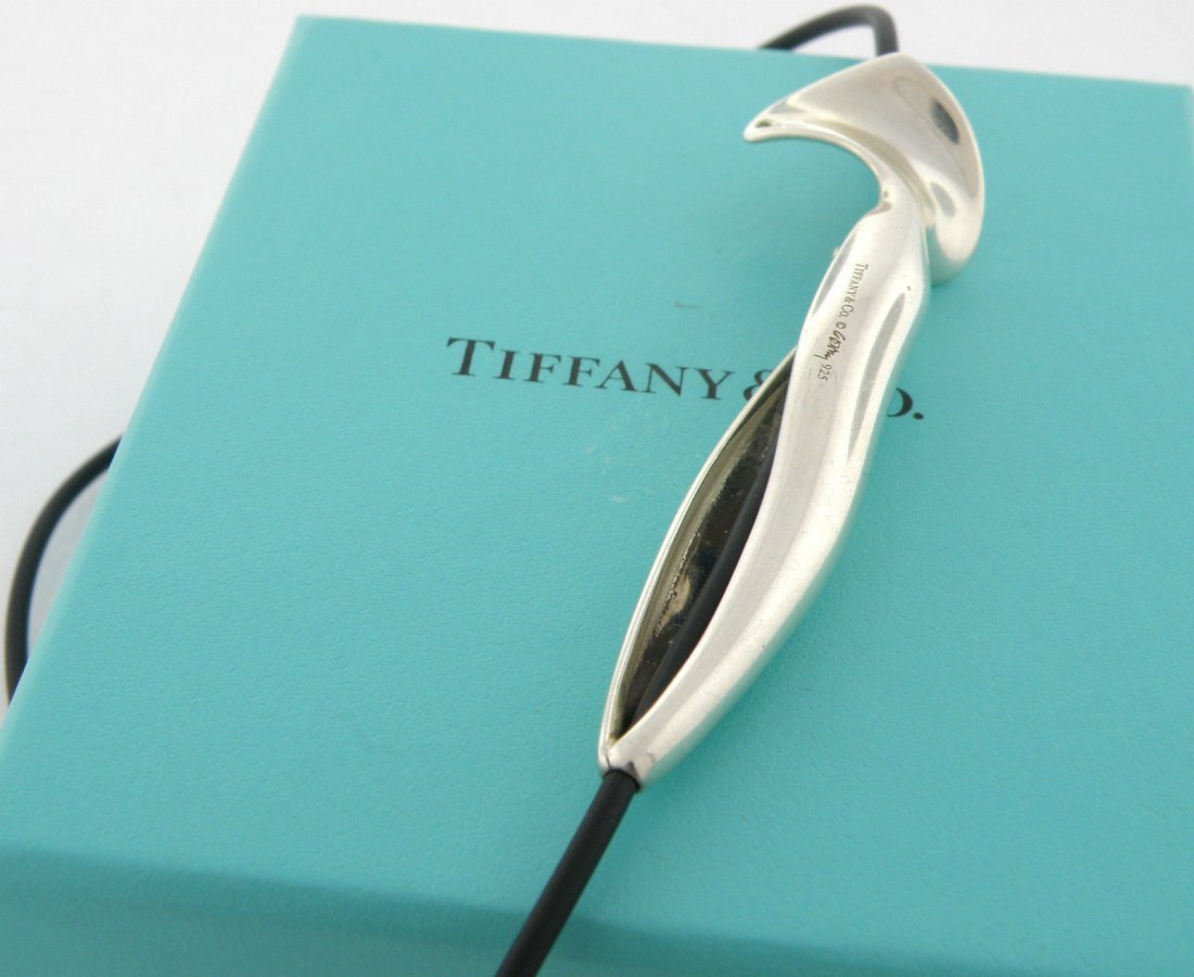 TIFFANY & Co. STERLING SILVER FRANK GEHRY NECKLACE