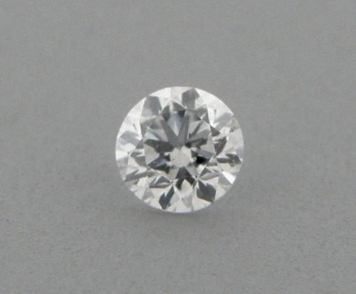 3.8mm BRILLIANT ROUND UNTREATED DIAMOND G VS2