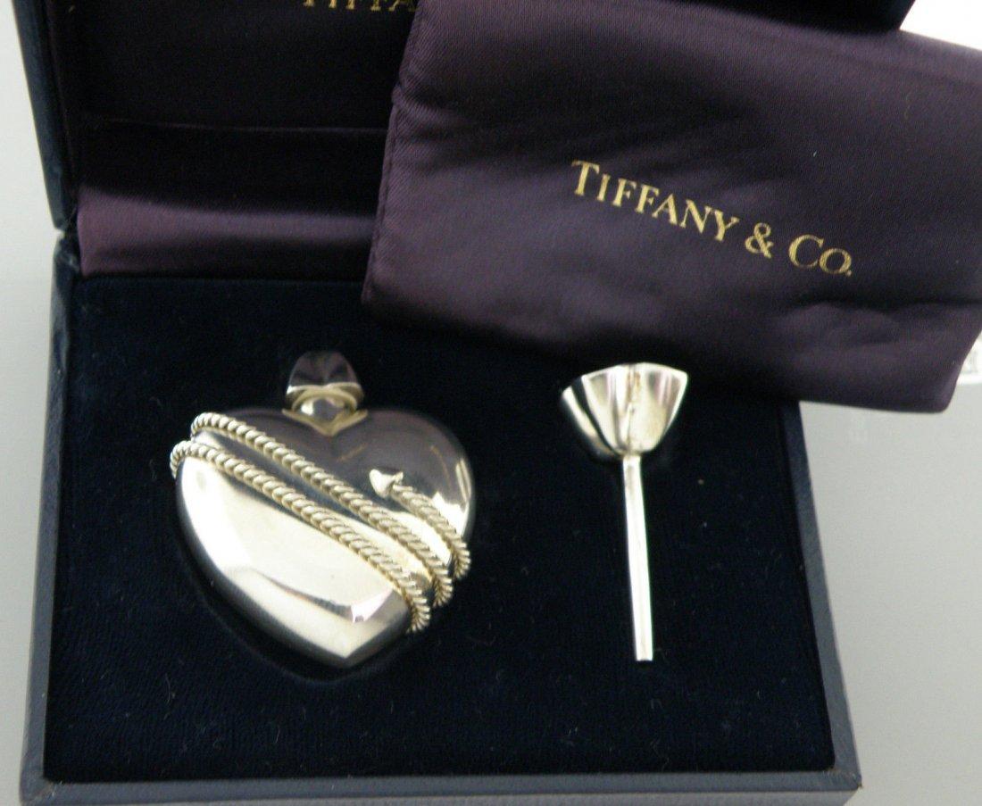TIFFANY & Co. STERLING HEART ARROW PERFUME BOTTLE BOX
