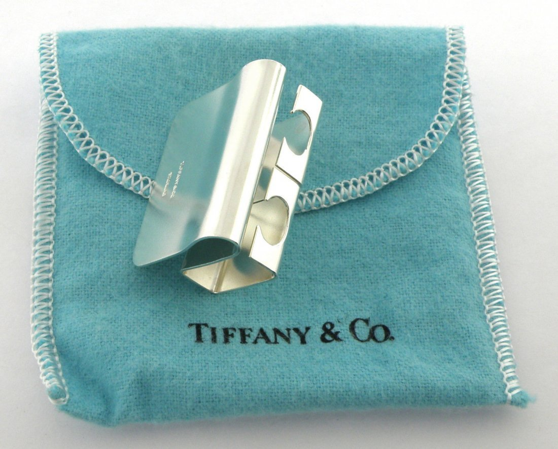 TIFFANY & Co. STERLING SILVER GOLF TEE HOLDER ON BELT