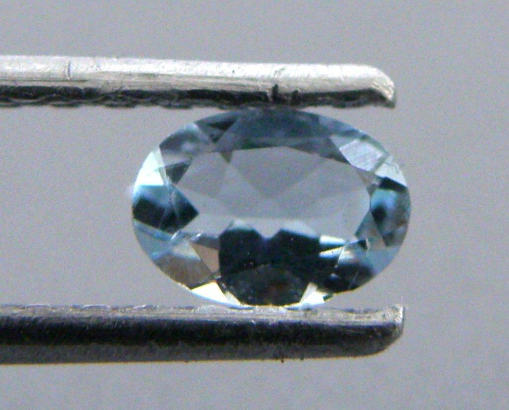 10x8mm OVAL CUT LOOSE NATURAL BEAUTIFUL BLUE AQUAMARINE