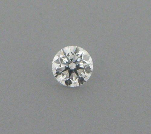 3.5mm BRILLIANT ROUND CUT UNTREATED DIAMOND G VS2