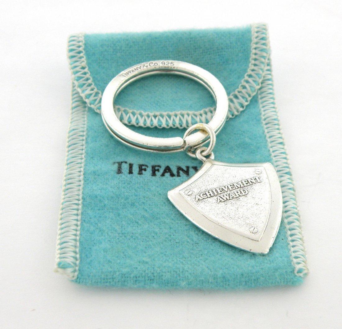 TIFFANY & Co. STERLING SILVER ACHIEVEMENT AWARD KEYRING