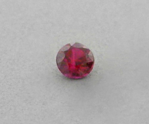 3mm ROUND CUT LOOSE NATURAL PIGEON BLOOD RED RUBY