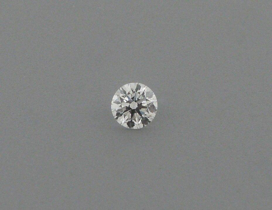 2mm BRILLIANT ROUND CUT UNTREATED DIAMOND G VS2