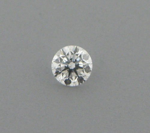 3.4mm BRILLIANT ROUND CUT UNTREATED DIAMOND G VS2