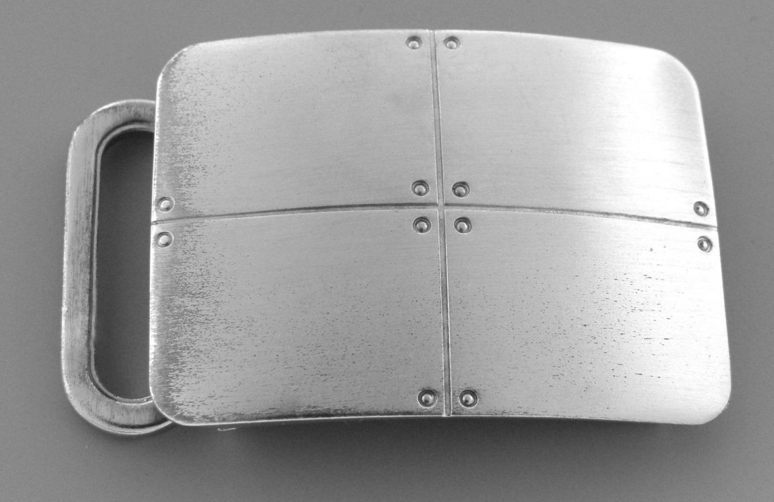 TIFFANY & Co. STERLING SILVER STREAMERICA BELT BUCKLE