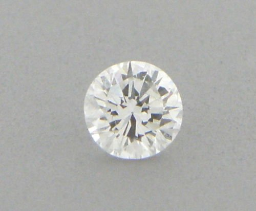 0.19ct LOOSE NATURAL UNTREATED DIAMOND G VS2 ROUND CUT - 2