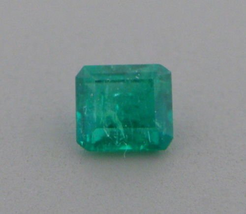 0.25ct NATURAL COLOMBIAN GREEN EMERALD EMERALD CUT