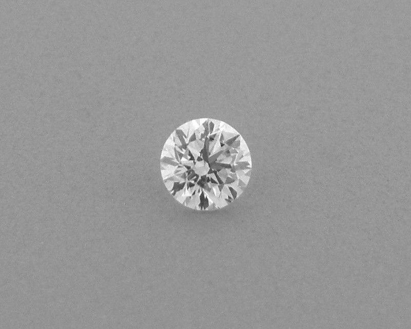 2.7mm BRILLIANT ROUND CUT UNTREATED DIAMOND G VS2
