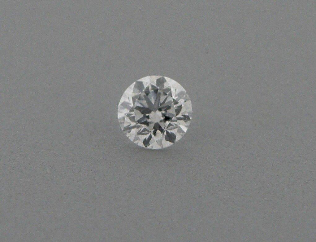 2.6mm BRILLIANT ROUND CUT UNTREATED DIAMOND G VS2