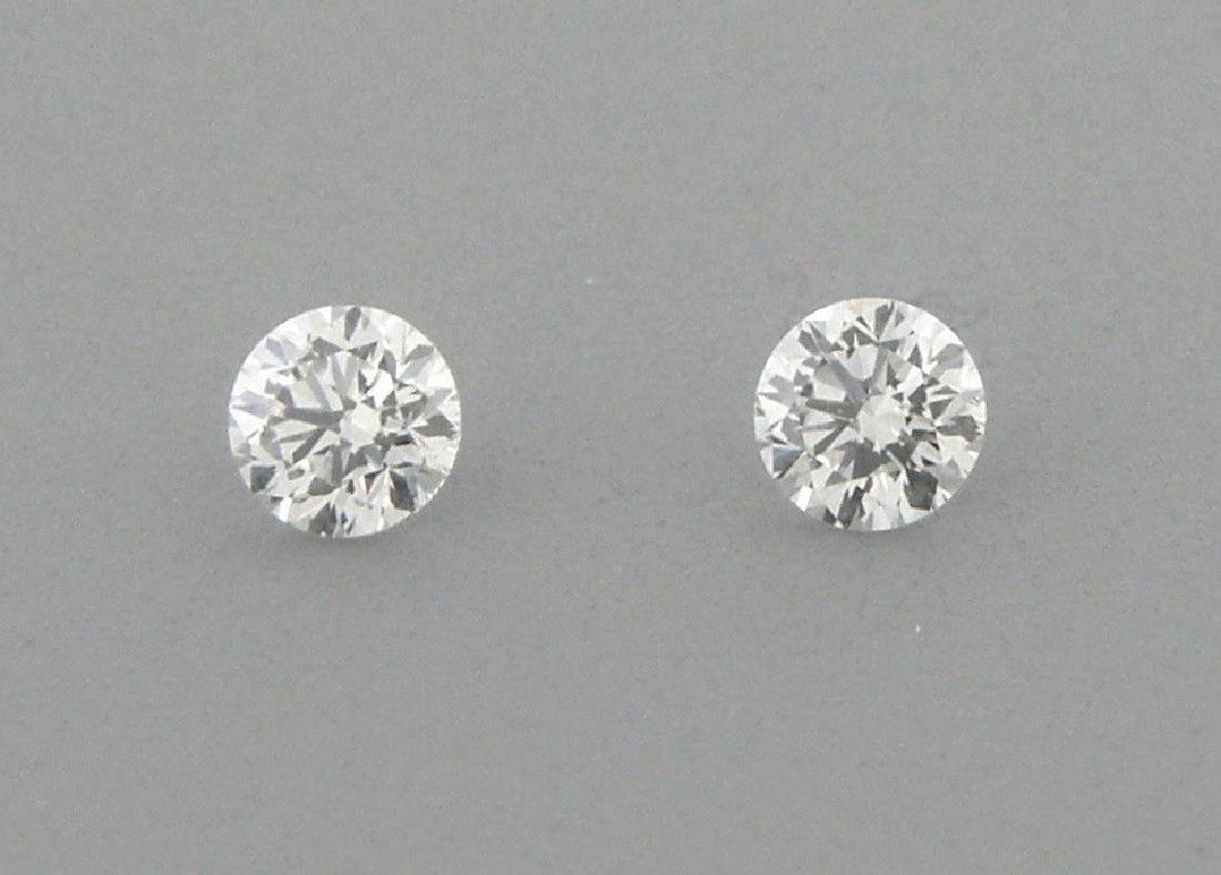 4.5mm MATCHING PAIR BRILLIANT ROUND DIAMOND G VS