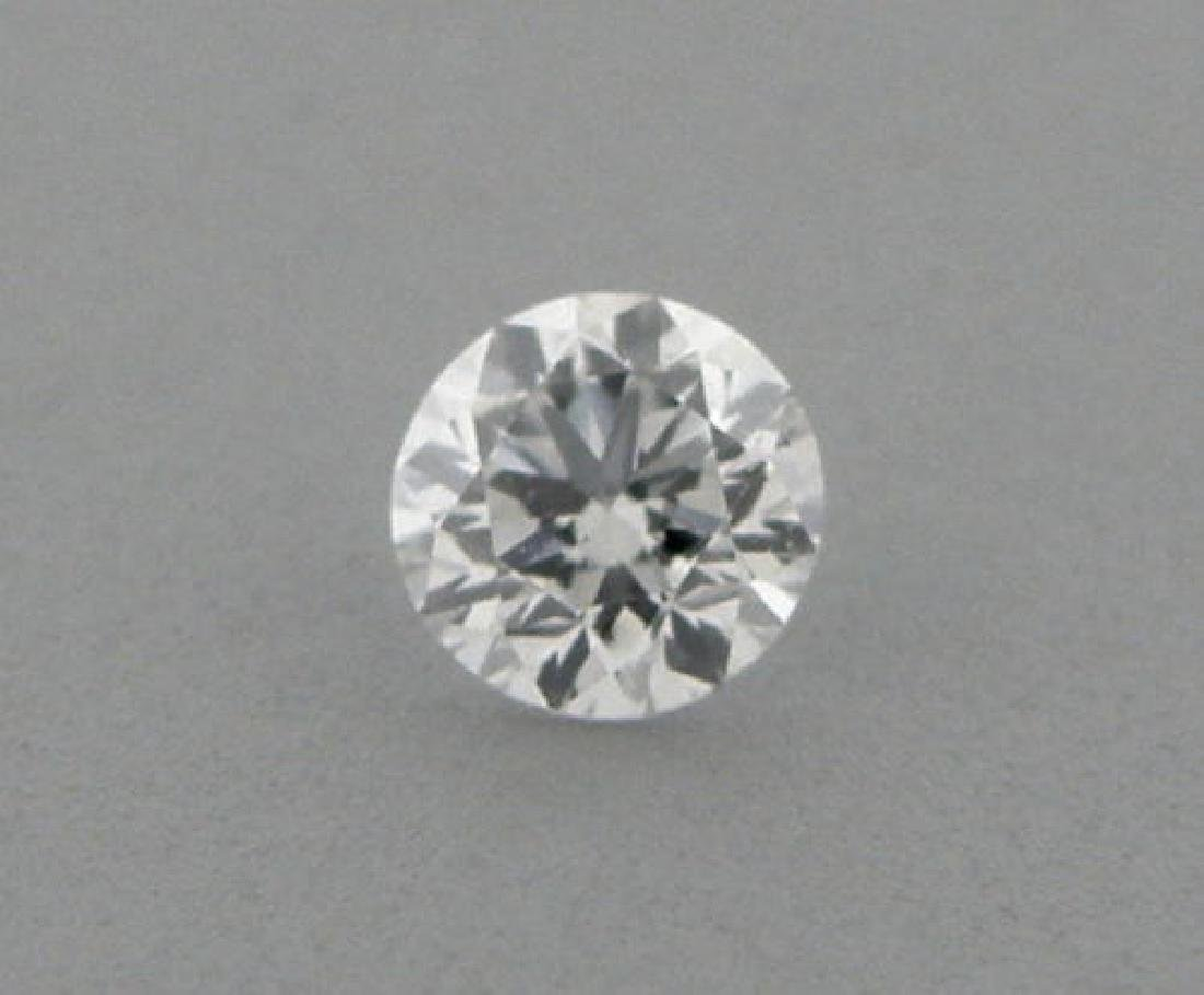 3.7mm BRILLIANT ROUND UNTREATED DIAMOND G VS2