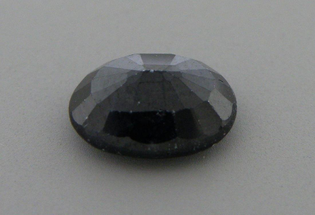 2.51ct LOOSE OVAL CUT NATURAL UNTREATED BLUE SAPPHIRE - 2