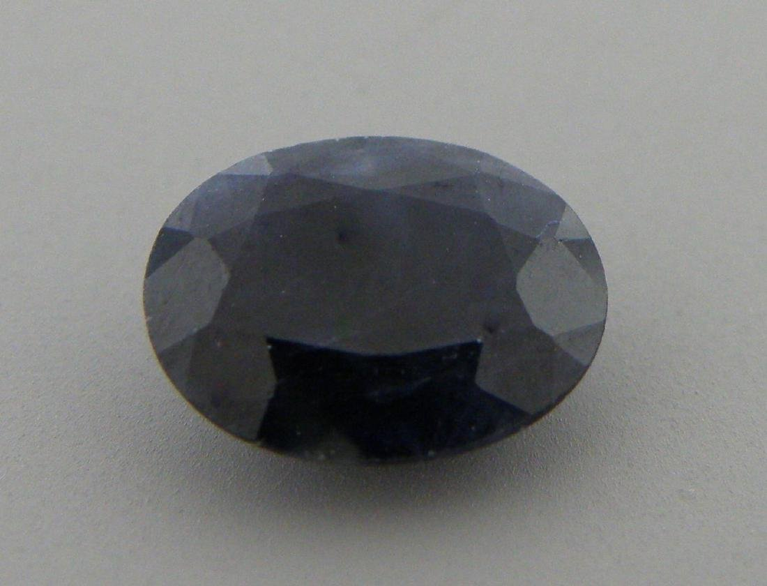 2.21ct LOOSE OVAL CUT NATURAL UNTREATED BLUE SAPPHIRE