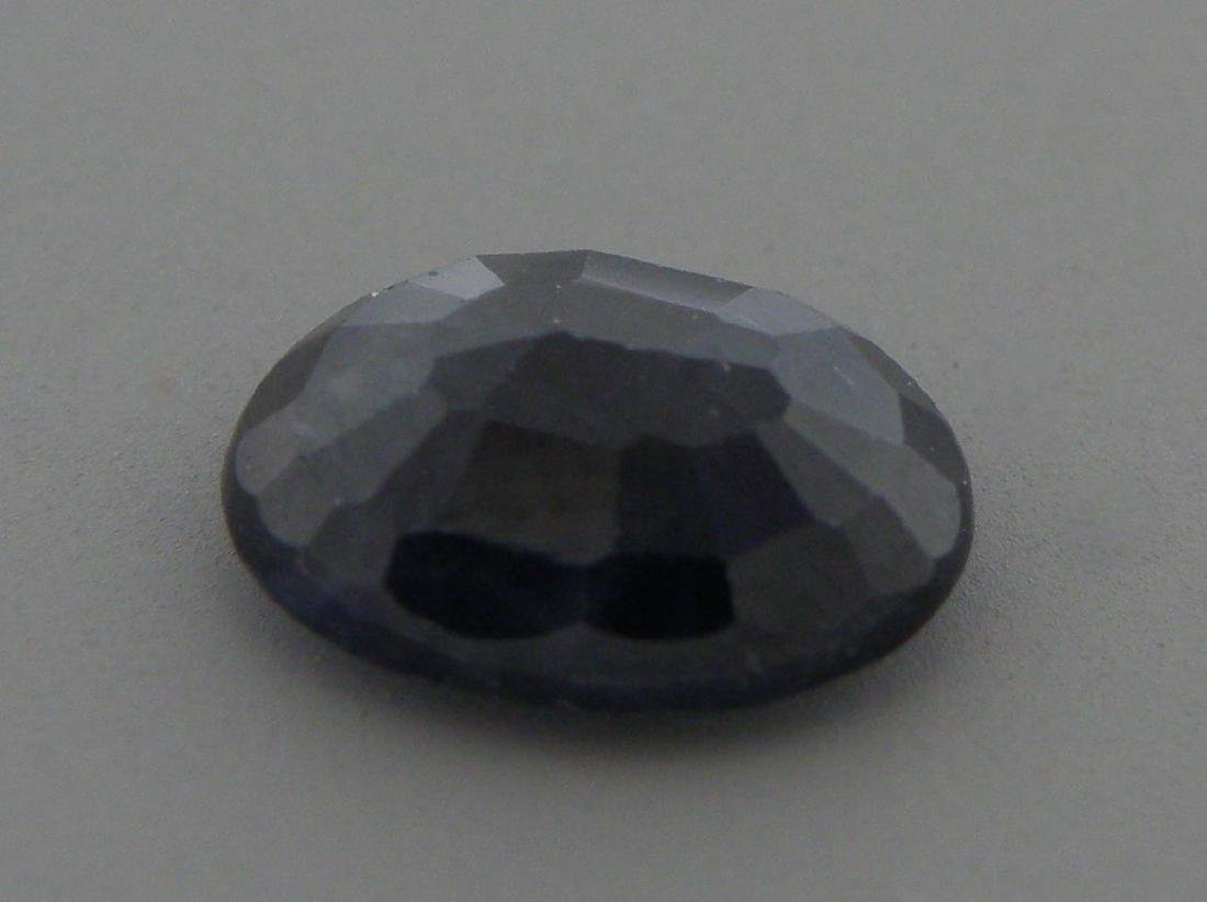 2.21ct LOOSE OVAL CUT NATURAL UNTREATED BLUE SAPPHIRE - 2