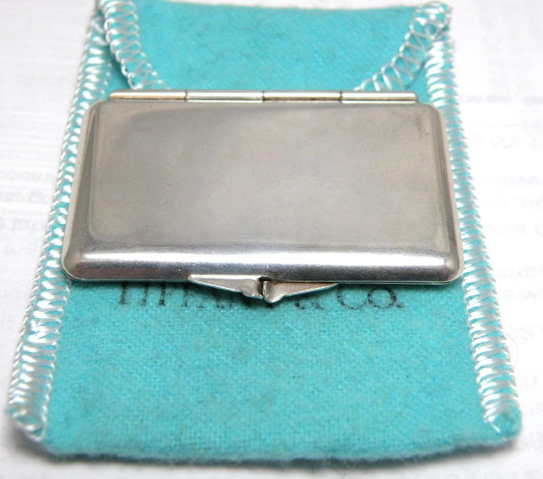 VINTAGE TIFFANY & Co. STERLING SILVER STAMP CASE