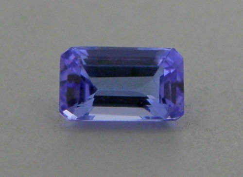 6x4mm NATURAL LOOSE EMERALD CUT PURPLE TANZANITE
