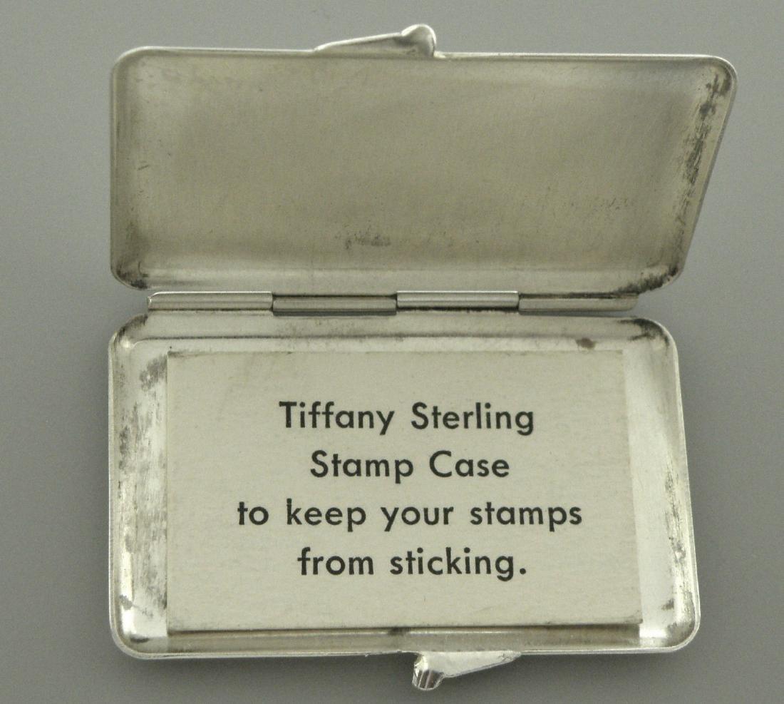 VINTAGE TIFFANY & Co. STERLING SILVER STAMP CASE - 2