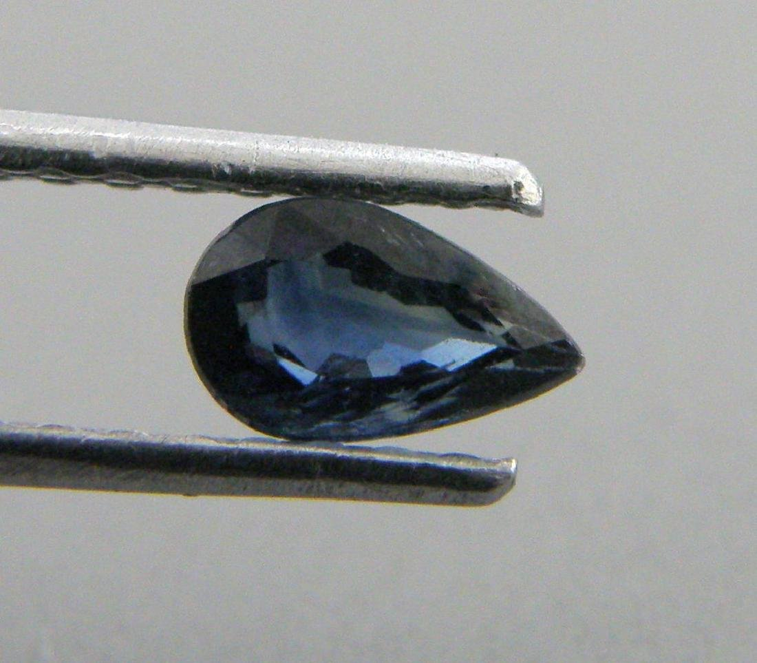 5x3mm PEAR SHAPE LOOSE NATURAL BLUE SAPPHIRE