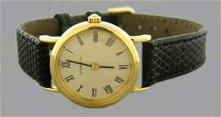 VINTAGE TIFFANY & Co. 14K YELLOW GOLD QUARTZ WATCH