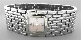 CARTIER PANTHERE RUBAN PINK MOTHER OF PEARL WATCH