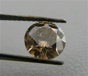 1.38ct ROUND CUT LOOSE NATURAL UNTREATED DIAMOND
