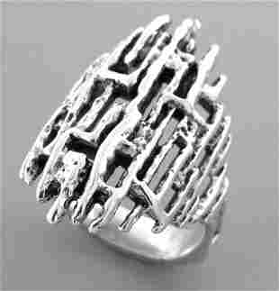 JAMES AVERY STERLING SILVER LADIES RING SIZE 9