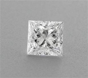 0.10ct PRINCESS CUT LOOSE NATURAL DIAMOND F VVS1
