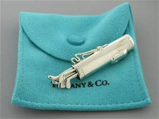 TIFFANY & Co. STERLING SILVER GOLF BAG CLUBS SET BROOCH