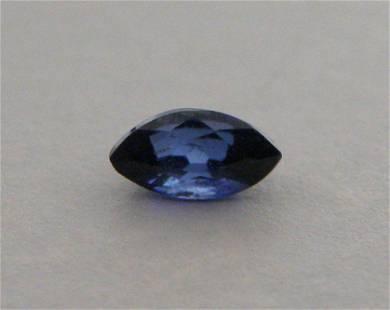 6x3mm MARQUISE CUT NATURAL BLUE SAPPHIRE