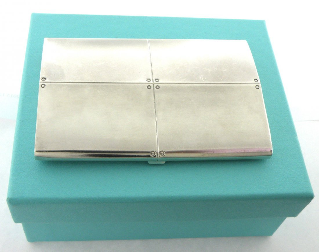 TIFFANY & Co. SILVER STREAMERICA BUSINESS CARD HOLDER - 2