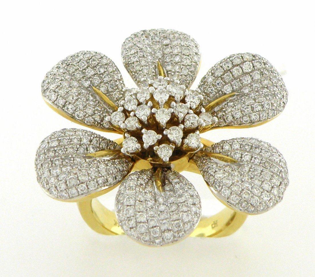 NEW 14K YELLOW GOLD DIAMOND RING DIAMONDS G VS 3ct