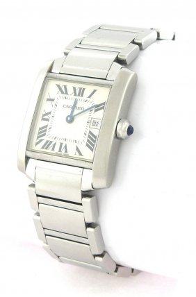 Cartier Tank Francaise Men's Watch Steel