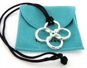 Tiffany & Co. Sterling Clover Quadrifoglio Necklace